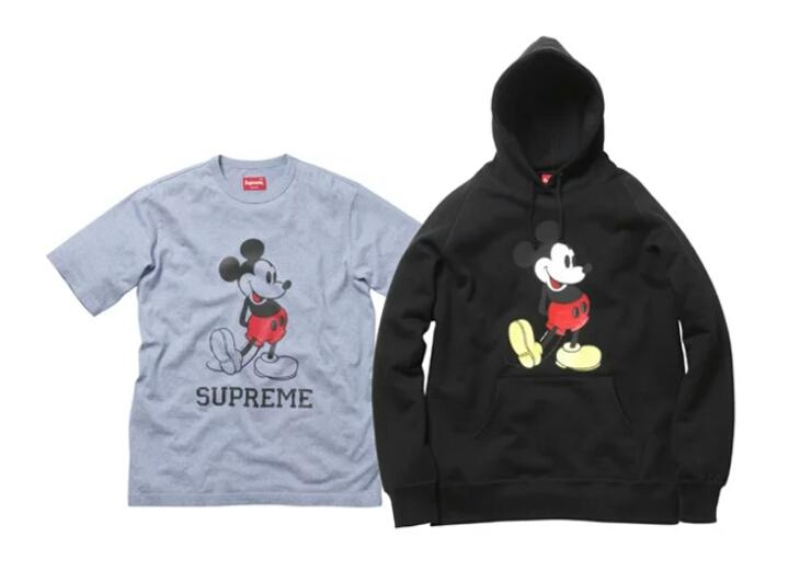 DisneyのMickeyとSupremeがコラボしていた件