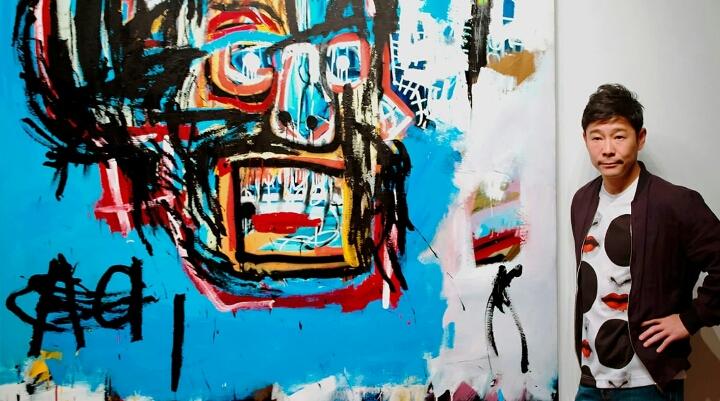 ZOZO前澤氏が123億で購入した絵画✨奇才アーティスト、バスキアとは❔❓❔