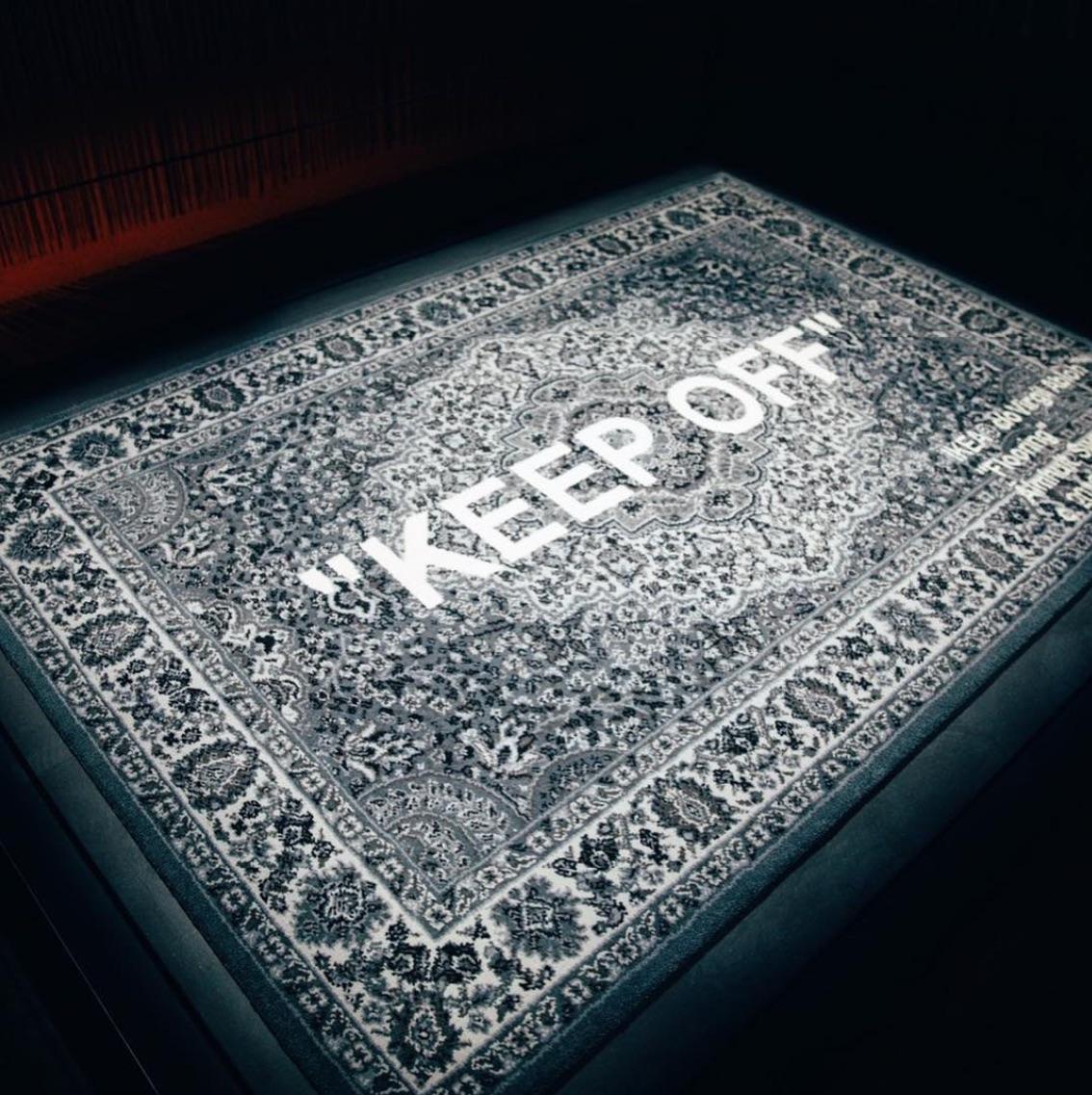 ヴァージル・アブローを含む7人の世界的デザイナーのラグコレクションが販売決定