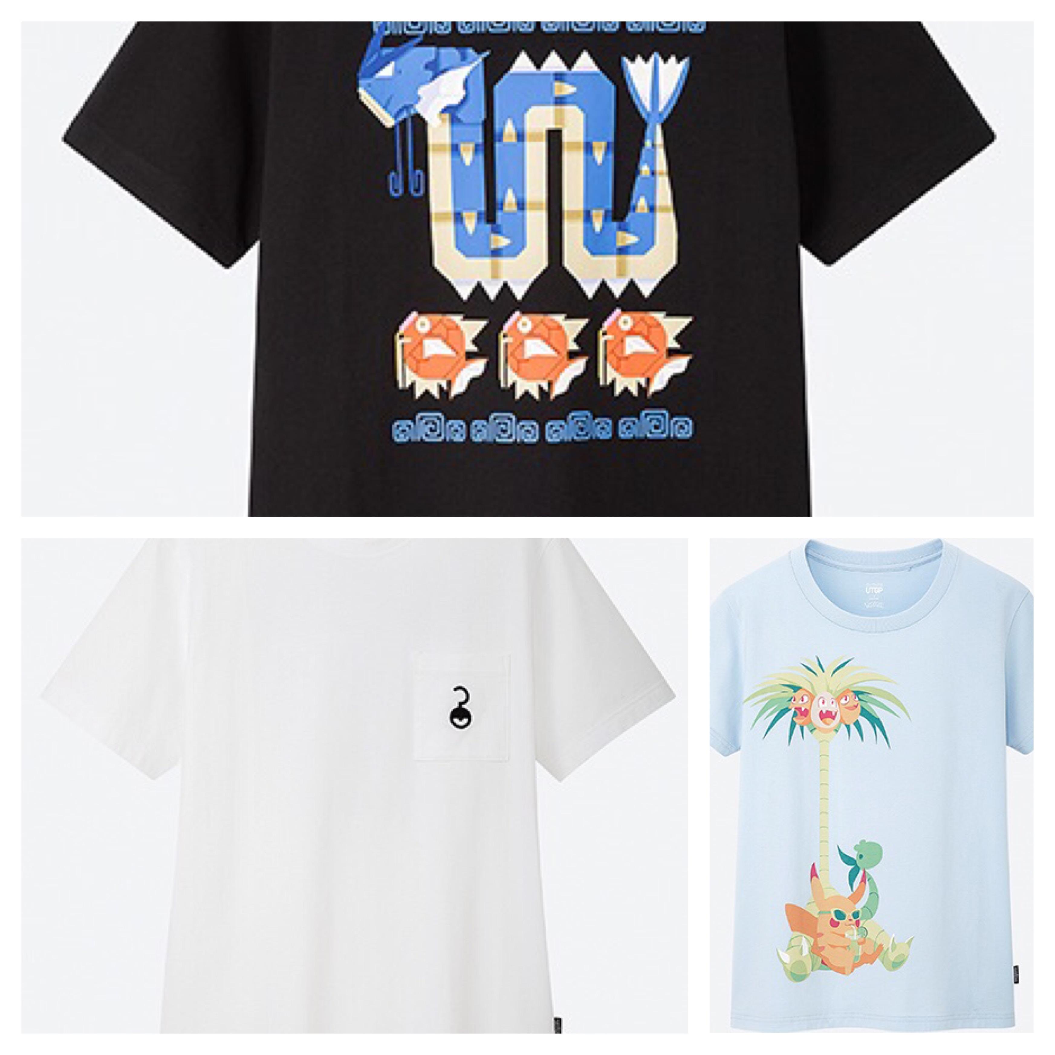 ユニクロのポケモンTシャツが可愛すぎる件