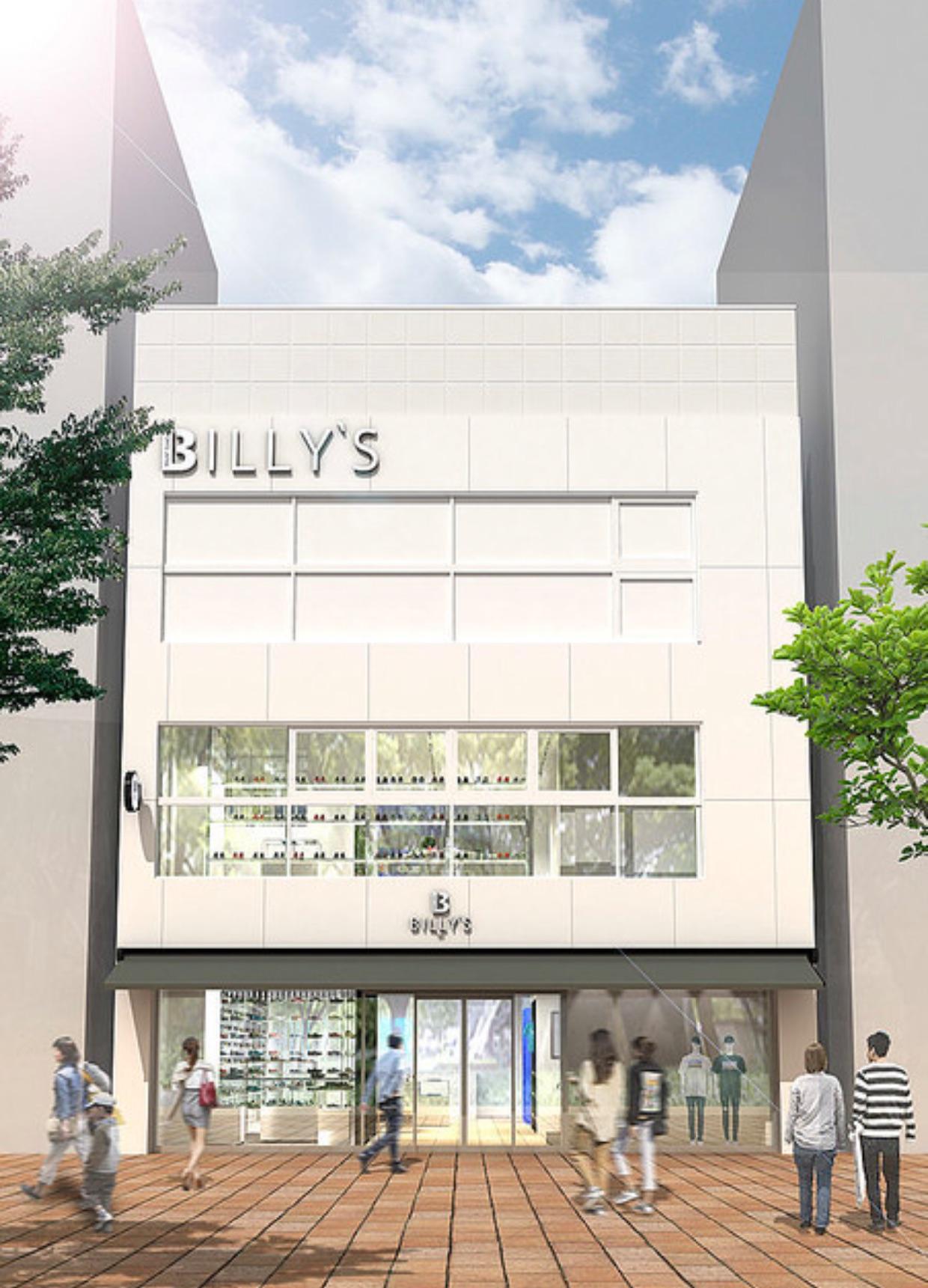 BILLY'S最大規模の店舗が名古屋に!
