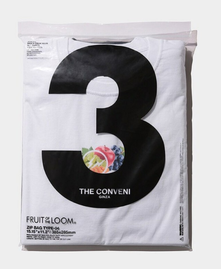 USA発の大人気TシャツFRUIT OF THE LOOMよりFragmentコラボTシャツがThe conveniより販売
