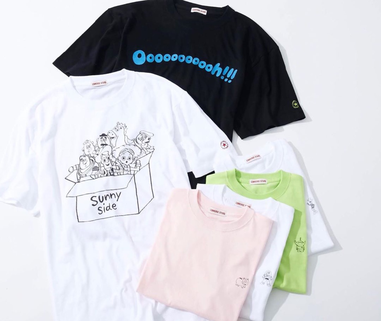 コンバーススターズ「トイストーリー」Ooooooooooh!!!のTシャツはおすすめ