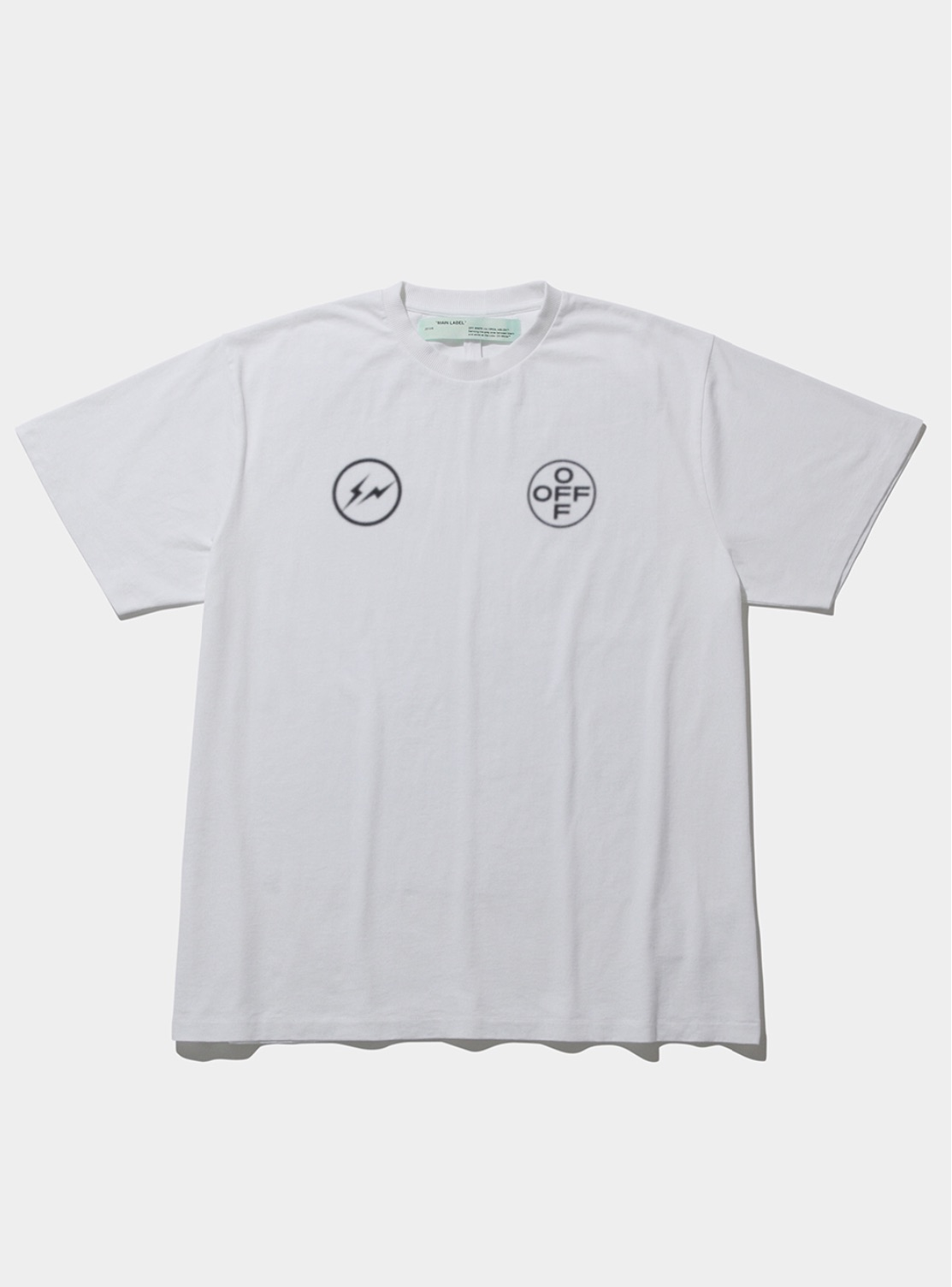 OFF-WHITE c/o VIRGIL ABLOH™×fragment designのTシャツが抽選受付中!