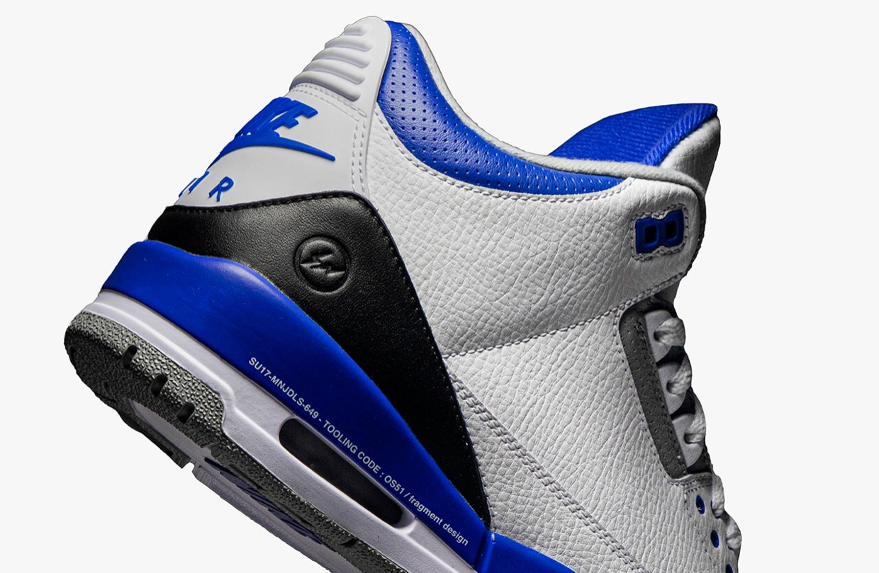 fragment design×Air Jordan3が発売間近?!