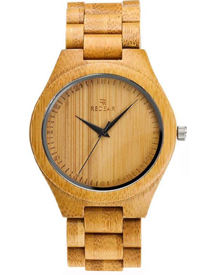 竹製の腕時計は金属アレルギーの人でも大丈夫!
