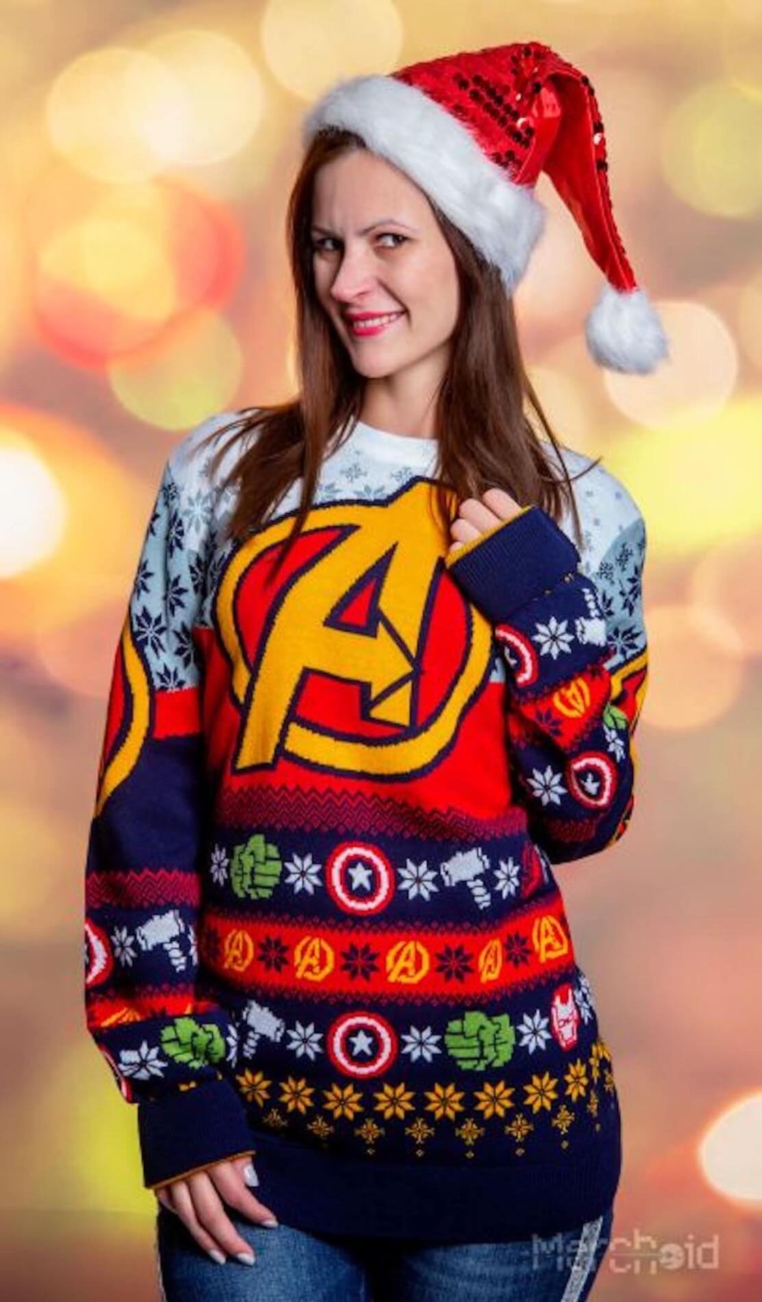 マーベルヒーローのダサいセーターがヤバすぎるw