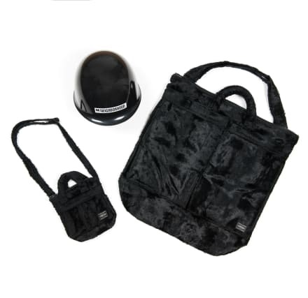 PORTERのヘルメットバッグが日本6ブランドとコラボ