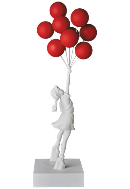 バンクシー「Flying Balloons Girl」が限定販売!
